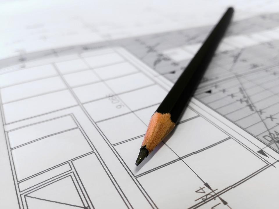 plán, ceruzka
